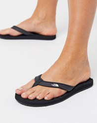 The North Face Base Camp Mini Flip Flop In Black