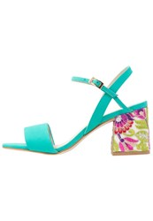 Bronx Sandals Emerald Turquoise