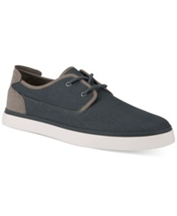 Marc New York Bergen Canvas Sneakers Men's Shoes Navy Grey White
