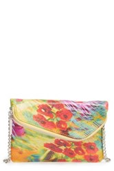 Hobo Daria Convertible Leather Crossbody Clutch Multi