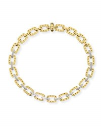 Roberto Coin 18K Yellow Gold Pois Moi Necklace With Diamonds 16 L