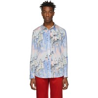 Sies Marjan Multicolor City Print Sander Shirt