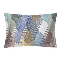 Olivier Desforges Fantasque Pillowcase Multicolour 50X75cm