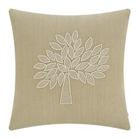 Mulberry Home Crafted Tree Cushion Ivory Sand 50X50cm