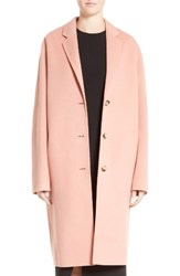 Acne Studios Women's Avalon Wool And Cashmere Coat Pale Pink