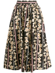 Forte Forte Floral Print Pleated Skirt 60