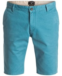 Quiksilver Men's Everyday Chino Shorts Blue