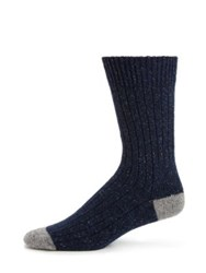 Barbour Houghton Socks Navy
