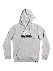 Quiksilver Big Logo Hoodie Light Grey