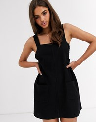 Rhythm Verona Dress With Front Patch Pocket In Black