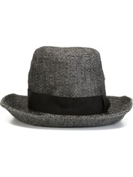 Attachment Trilby Hat Grey