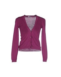 Moschino Cheap And Chic Moschino Cheapandchic Knitwear Cardigans Women Purple