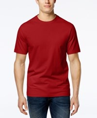 Club Room Men's Paxton Crew Neck T Shirt Only At Macy's Fire