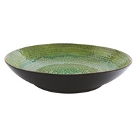 Habitat Sintra Large Green Serving Bowl 34Cm