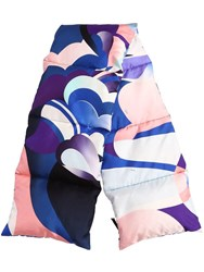 Emilio Pucci Printed Silk Padded Scarf Multicolor