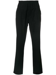 Soulland Pino Relaxed Trousers Black