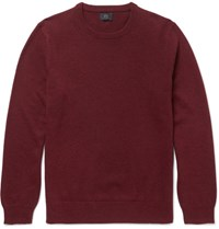 J.Crew Slim Fit Cashmere Sweater Burgundy