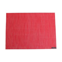 Chilewich Bamboo Rectangle Placemat Poppy
