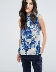 Y.A.S Glaze Floral Sleeveless Top Multi