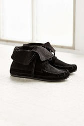 Urban Outfitters Moccasin Ankle Boot Black
