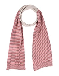 Love Moschino Oblong Scarves Red