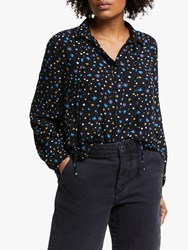 John Lewis Collection Weekend By Alexandra Floral Shirt Black Multi