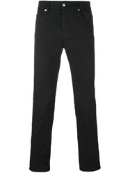 Mcq By Alexander Mcqueen Skinny Jeans Black