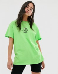 Adolescent Clothing Tattoo Dragon Print T Green