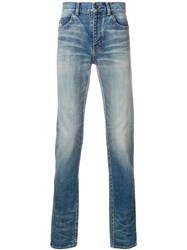 Saint Laurent Slim Fit Jeans Blue