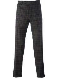 Al Duca D'aosta 1902 Checked Tailored Trousers Brown