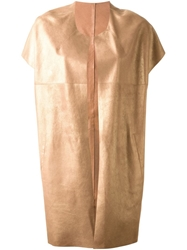 Sylvie Schimmel Metallic Short Sleeve Coat