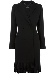 Twin Set Double Breasted Blazer Dress Black
