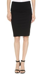 Getting Back To Square One Above The Knee Skirt Black