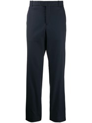 Kenzo Slim Fit Tailored Trousers Blue