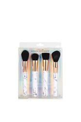 Topshop Marble Shut The Contour Brush Set By Skinnydip Grey