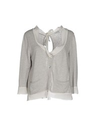 Tua Nua Knitwear Cardigans Women Light Grey