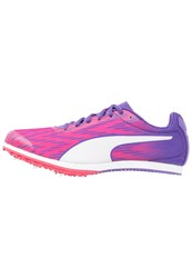 Puma Evospeed Star 5 Competition Running Shoes Sparkling Cosmo Electric Purple White Pink