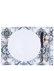 Tablecloths Maioliche Grigie Set Of 2 Placemats