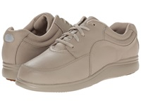 Hush Puppies Power Walker Taupe Leather Women's Walking Shoes