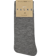 Falke No 1 Cashmere Ankle Socks 3390 Light Grey Mel
