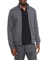 Moncler Full Zip Track Jacket Gray