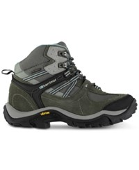 Karrimor Aspen Mid Waterproof Hiking Boots From Eastern Mountain Sports Grey Blue