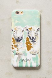 Anthropologie Paired Sheep Iphone 6 Case Guacamole