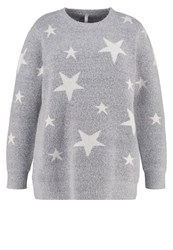 Evans Star Jumper Grey