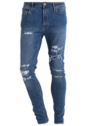 Jack And Jones Jjiliam Jjoriginal Slim Fit Jeans Blue Denim
