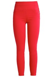 Patrizia Pepe Jeans Skinny Fit Festival Red