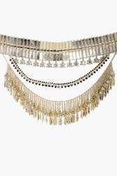Boohoo Holly Boutique Oversized Western Necklace Gold