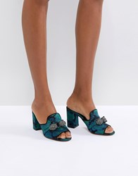 Carvela Brocade Mule With Jewels Multi Other