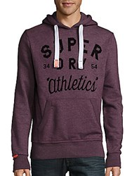 Superdry Road Runner Long Sleeve Pullover Fig