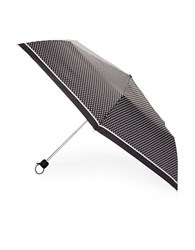 Fulton Superslim No. 2 Dotted Compact Umbrella Black